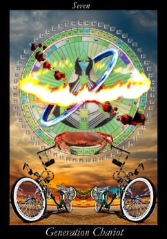 "11/7/16 - 3rd CLN Waxing Moon - Generation Chariot - ""The past has no power over me; I move in the power of now."""